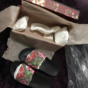 Gucci Flower Slides BRAND NEW